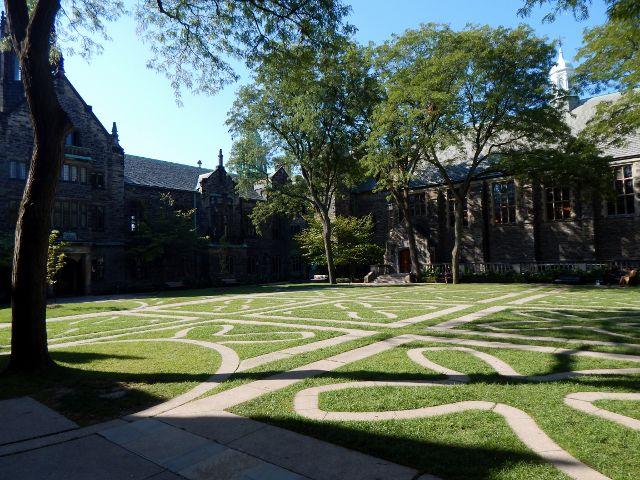 Innenhof Trinity College Toronto
