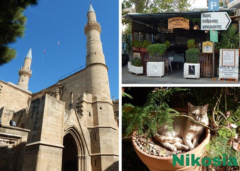 Nikosia die geteilte Stadt - Mauer, Moschee und Grüne Linie