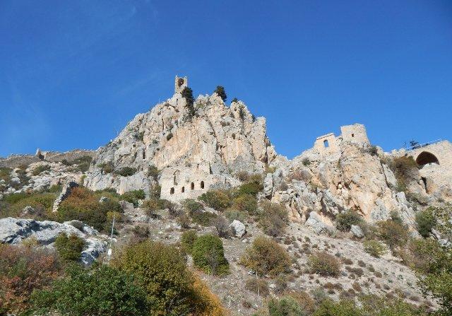 St. Hilarion Burg über Girne