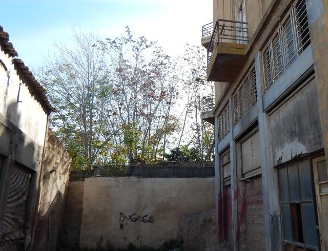 Nikosia die Mauer