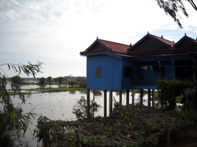 Stelzenhäuser am Tonle Sap