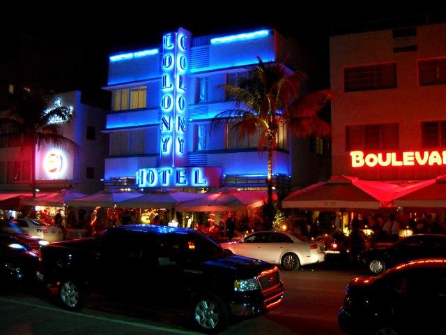 Miami Beach am Abend