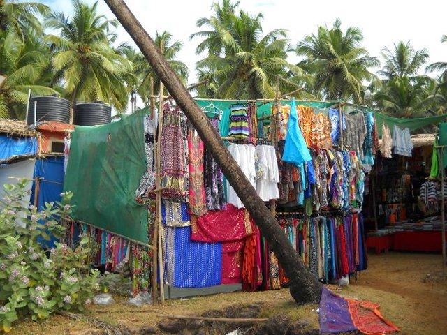 Goa Indien Marktstände