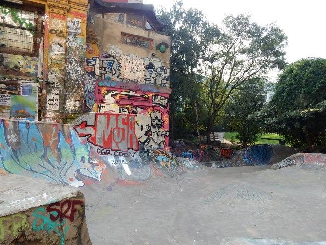 Skatepark Rote Flora