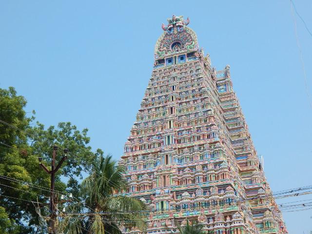 Gopuram von Srirangam