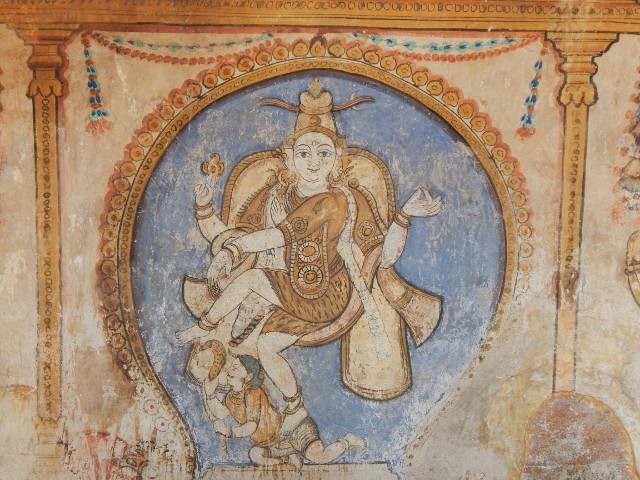Tanjore Shiva tanzt Brihadeshwara