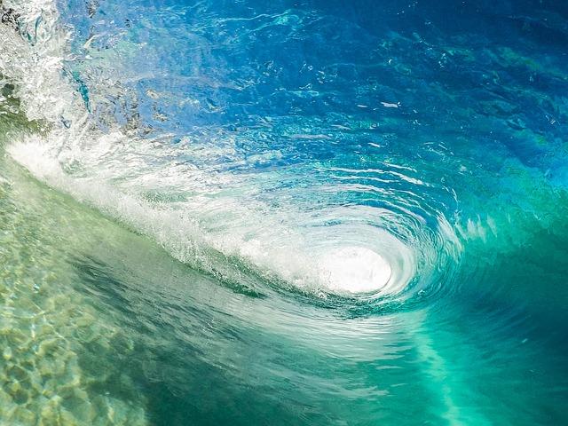 Surfen in der tube. Boarderlines