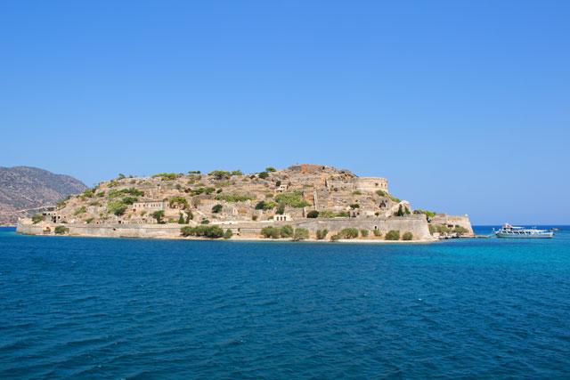 Spinalonga, die Insel bei Agios Nikolaos