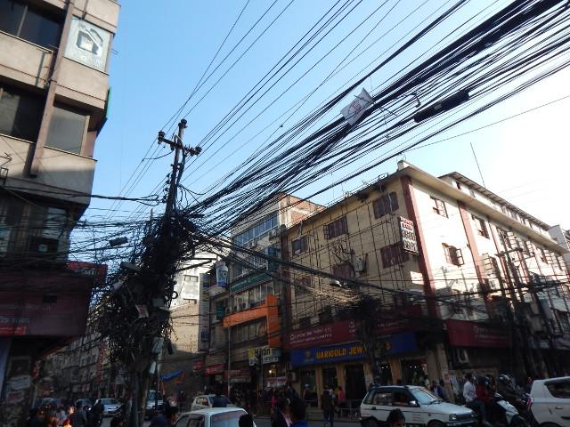 Nepal Rundreise, Stromversorgung in Kathmandu