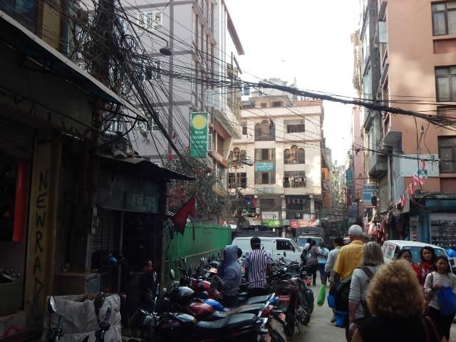 Spaziergang durch Kathmandu