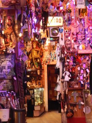 Skurriles und Gruseln im Voodoo Shop von Marie Laveau
