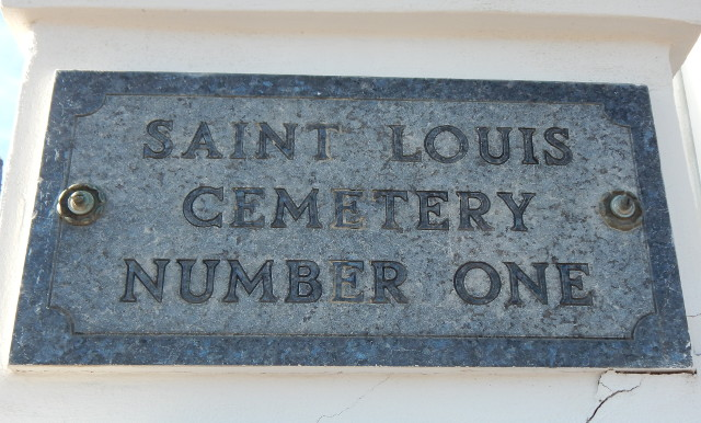Der St. Louis Cemetery No. 1 in New Orleans.