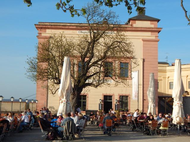 Restaurant in der Festung Ehrenbreitstein.