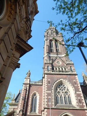 Turm der Dionysius Kirche