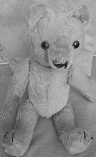 Mein Teddybär aus der Kindheit.