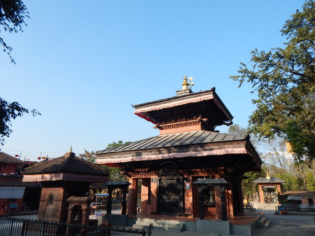Pokhara Lakeside Tempel