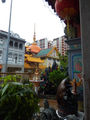 Buddhistische Tempel in Little India Singapur