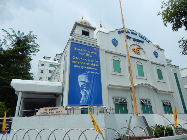 Central Sikh Tempel Little India