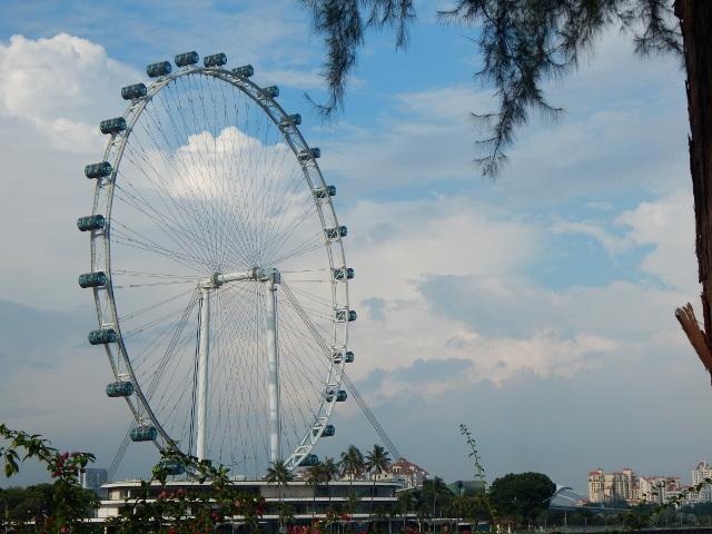 Das Riesenrad - der Singapore Flyer