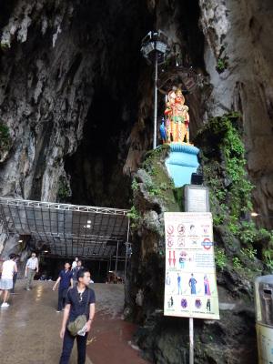 Beim Besuch der Batu Caves sind einige Regeln zu beachten.