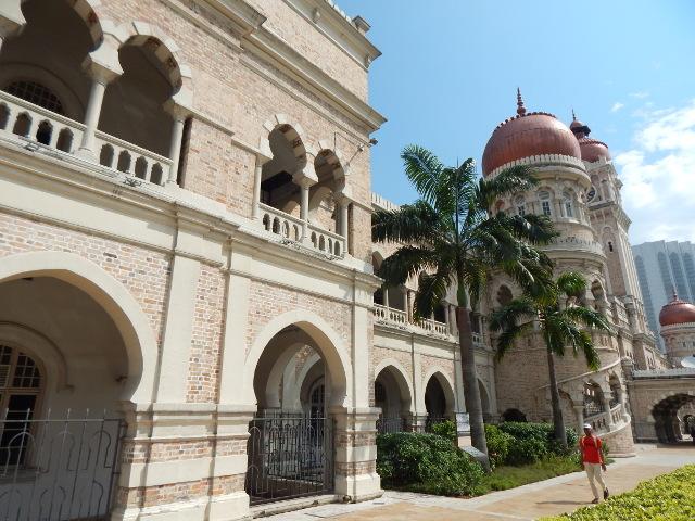 Sultan Abdul Samad Building im Kolonialviertel Kuala Lumpur, Malasia.
