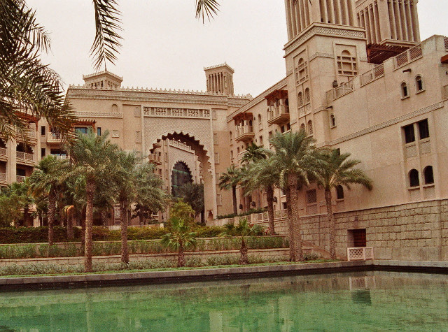 Luxushotel des Jumeirah Resort Dubai.