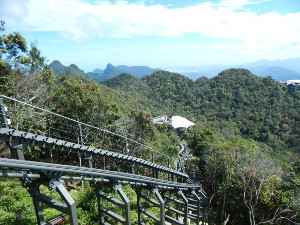 Monorail zur Skybridge Langkawi