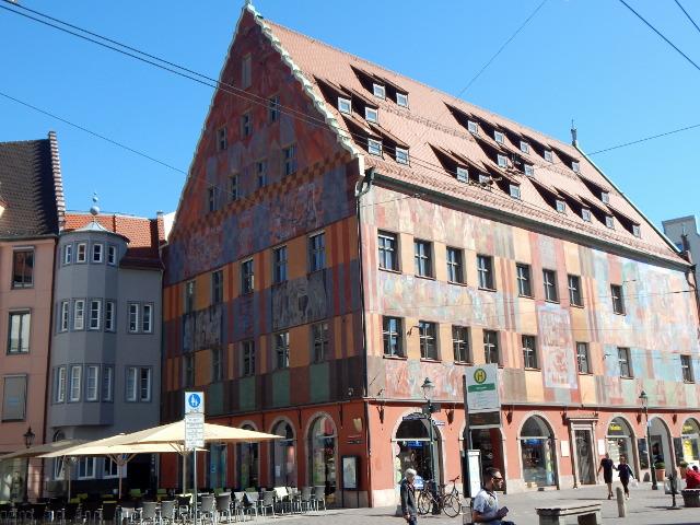 Das Weberhaus in Augsburg, Sehenswürdigkeiten Augsburg.