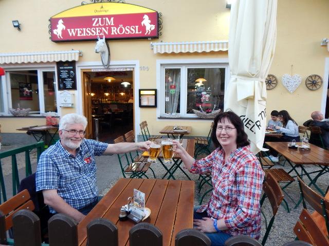 Essen im Prater Wien