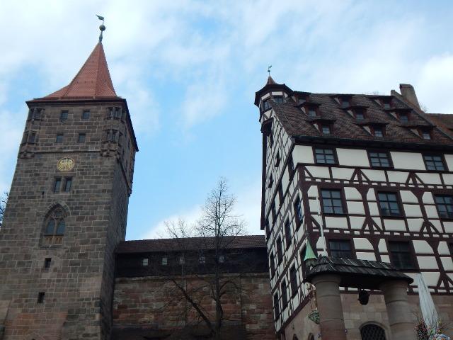 halber Tag in Nürnberg Tiergärtnertorplatz
