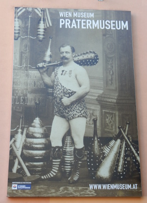 Das Pratermuseum in Wien
