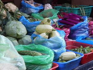 Obst- und Gemüse in Nepal