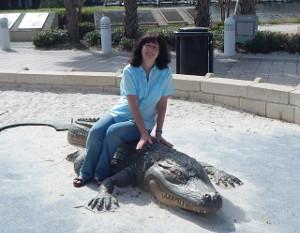 Ritt auf dem Alligator