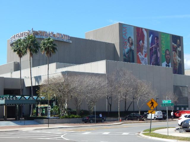 Tampa Florida, das David A Straz Jr Center for Performing Arts