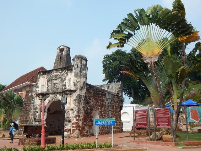 Porta de Santiago Malakka, Malaysia.