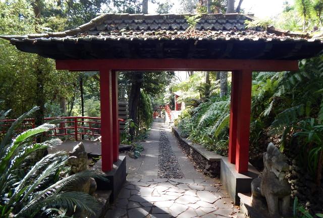 Chinesisches Tor im Orientgarden