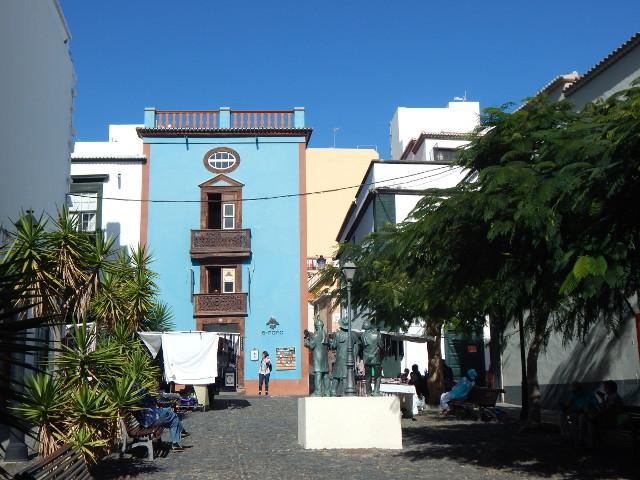 Plaza de Vandale in Santa Cruz de la Palma