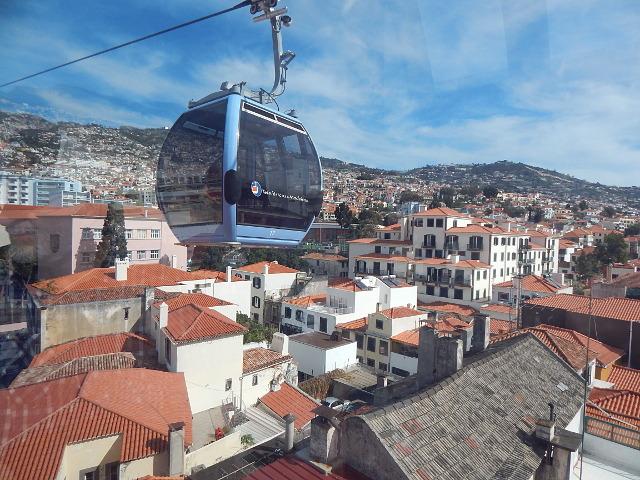Funchal Madeira Seilbahn zum Monte