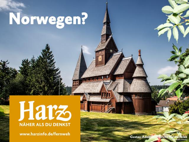 Stabkirche im Harz