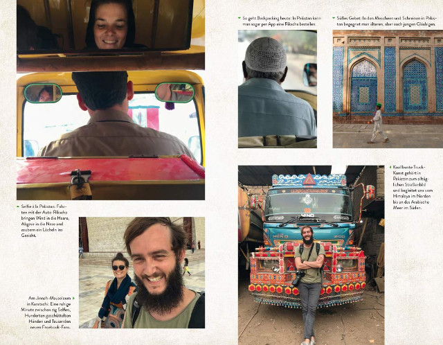 Impressionen aus Backpacking in Pakistan