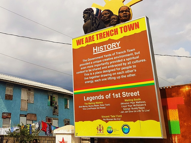 Community Walk First Street Trenchtown Kingston