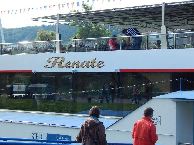 Mit dem Schiff Renate zum Donaudurchbruch