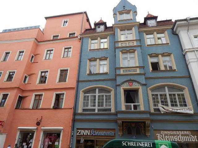 Häuser in der Wahlenstraße in Regensburg
