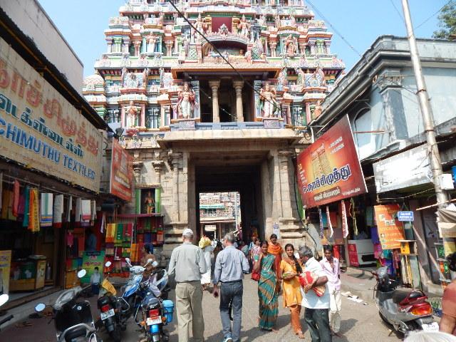 Die Gassen der Altstadt von Madurai