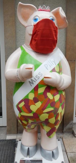 Die gekrönte Miss Pilly in Schweinfurt