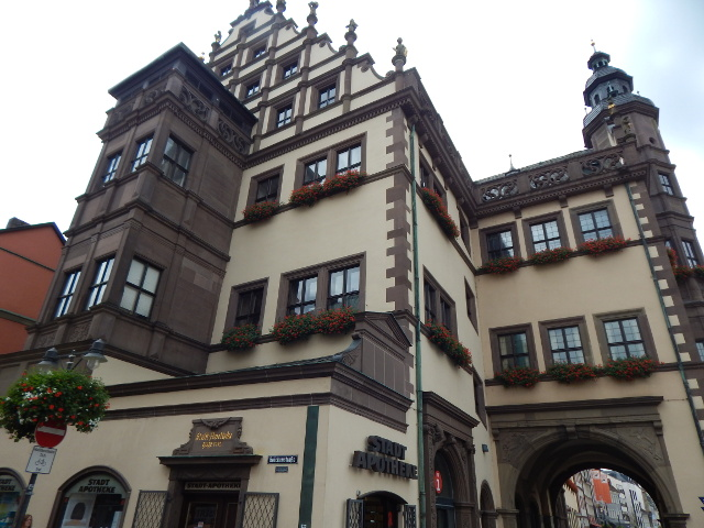 Alte Stadtapotheke Schweinfurt Sehenswürdigkeiten