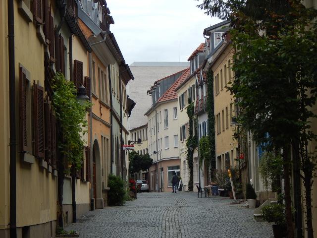 Die Judengasse in Schweinfurt Sehenswürdigkeiten Rundgang