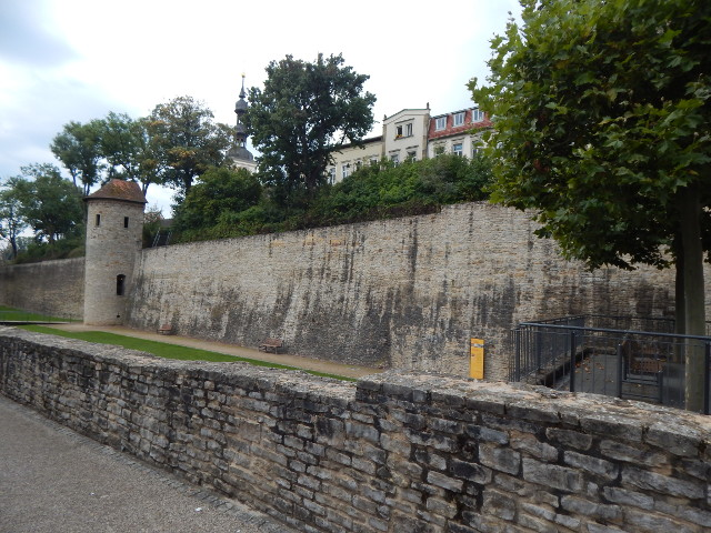 Stadtmauer in Schweinfurt Sehenswürdigkeiten