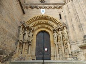 Eingang zum Bamberger Dom