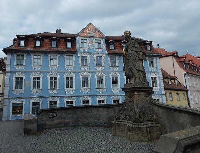 Kaiserin Kunigunde und Goldschmiede Triebel in Bamberg